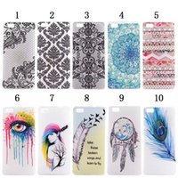 Wholesale Xperia Z1 Soft Case - Flower For Huawei Ascend P8 Lite Sony Ericsson Xperia Z1 L39h Z2 D6503 Dreamcatcher Eye Sexy Girl Ultrathin Soft TPU case Tribal Palace skin