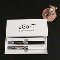 ecigarette ego ce4 kiti toptan satış-Ego T CE4 çift kiti Ecigarette vape kalem ego t 1100 mAh pil CE4 atomizer e çiğ nargile buharlaştırıcı