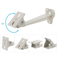 Wholesale Cctv Security Camera Mounting Brackets - Metal Wall Ceiling Mount Stand CCTV Bracket with Adjustable Angles for Surveillance IP Camera DVR Security System S579