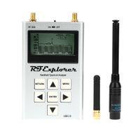 exibição de espectro venda por atacado-Atacado-Viu 6G Combo Alta Qualidade Analisador de Espectro Digital USB RF Explorer Display LCD de Alta Capacidade Lipo Analizador de espectro
