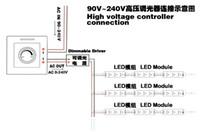 Wholesale Triac Dimmer Led Driver - Wholesale-IR LED dimmer switch 90-240V,110V 220V 230V,Light dimmer,Suitable for TRIAC driver, ETH-8006H