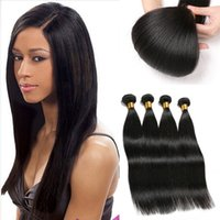 Wholesale Cheapest Straight Weave - 3PCS Brazilian Straight Hair Extensions Top Grade Brazilian Virgin Hair Bundles deals Tissage Bresilienne Human Hair Weave Straight Cheapest