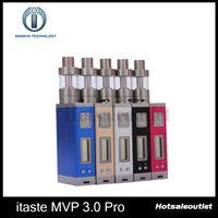 Wholesale Mvp Batteries - Innokin iTaste MVP 3.0 Pro Starter Kit iSub G MVP 60W 4500mah Battery iTaste MVP3 PRO Kit 100% Original New Arrival