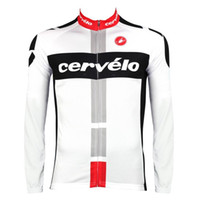 Wholesale Cycling Jerseys Cervelo - 2016 Cervelo cycling clothing long sleeve cycling jersey quick-dry mountain bike clothes breathable bicycle sport wears