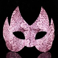 Wholesale Sequins Decoration For Woman - Masquerade Party Venice Women Mask Half Face Sequins Decoration Dovetail Sexy Mask Halloween Performance Props Supplies 20pcs lot SD400