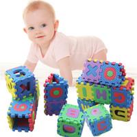 Wholesale Crawling Puzzle - Toys For Children Kids 36pcs Set Alphabet Numerals Kids Rug Puzzle Baby Play Mat Soft Floor Crawling Mini Puzzle Children's Mat