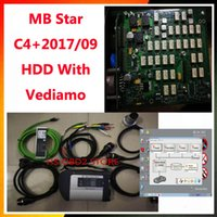 2017 09Software obd2 Scanner MB STAR C4 per Mercedes Benz C4 Multiplexer con software 320g HDD con Vediamo / DTS MANACO / EPC / WIS
