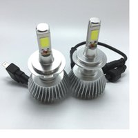 Wholesale H7 Led Headlight Cree - 2016 car lighting system led car headlight CREE chip all in one 32w H1 H7 H11 H27 9005 9006 HB3 HB4 880 801