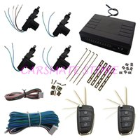 Wholesale Flip Key Alarm - High Quanlity Car Remote Central Door Locking System With Flip Key Remote Control Can Choose Suitable Blank Key In Stock!