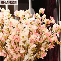Wholesale Behan US furniture wedding new home decorative floral silk flower simulation flower artificial flowers cherry dichroism election
