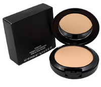 Wholesale nw powders for sale - Group buy low price High quality Professional Makeup STUDIO FIX POWDER PLUS FOUNDATION FOND DE TEINT POUDRS g face powder pressed powder NC NW