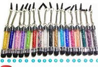 caneta stylus para fedex venda por atacado-1500 pcs Cristal Diamante Caneta Stylus Para iphone ipad, Tela Capacitiva Qualquer Tela Sensível Ao Toque para Tablet Telefone Celular DHL Fedex Livre