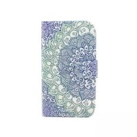 Wholesale Aztec Leather - For Nokia Lumia 640 630 635 520 Keep Calm be yourself Smile Balloon Datura Flower Aztec Wallet leather Pouch credit card stand Case Cover