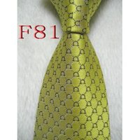 Wholesale Men Designer Neck Ties - Fashion Accessories Necktie Brand Fashion Designer Men 100% Silk Ties for Men Business Tie High Quality Mens Neck Tie with logo