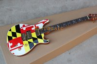 Wholesale Pr Guitar - Free shipping New Arrival PR Paul R S Private Stock Custom 24 Nice Sticker Electric Guitar