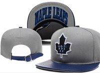 Wholesale Blue White Snapbacks - New Caps 2015 Hockey Snapback Caps Hats Toronto Cap Mix Match Order All Caps in stock Top Quality Hat