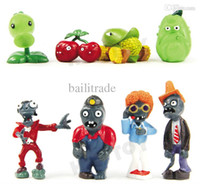 All'ingrosso-Garden Guerra Nuove Plants vs Zombies 2 Action figure PVZ 8pcs / set PVC 3