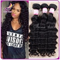 Where to buy cheap weave hair extensions can dyed online buy 6a human hair extensions brazilian virgin hair weaves natural black 1b color 3 bundles brazilian virgin hair deep waves can be dyed cheap in bulk pmusecretfo Images