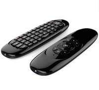 Vola tastiera QWERTY Air mouse Gyro mini telecomando senza fili C120 Per Q2 Android Smart TV Box Mini PC Motion Sensing controller di gioco