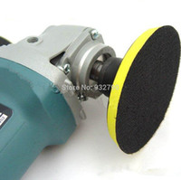 Wholesale Disc Pads - NEW 125MM ANGLE GRINDER SANDER POLISHING BUFFING BONNET POLISHER BUFFER WHEEL PAD DISC DISK AXLE DIA M16 M14 M10 WHOLESALE HOT order<$18no t