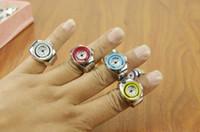 relojes antiguos al por mayor-Reloj de estiramiento Anillo de dedo WatchBall superficie anillo Reloj de moda coreano Personalidad marea formas antiguas Ocio reloj de cuarzo joyería a estrenar