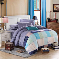 Wholesale Romantic Bedlinen - Wholesale-Hot Seller Quality Guaranteen Printed Bedlinen Palevioletred Romantic Comforters Cotton Home Bedding Set Twin Queen King