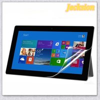 Wholesale Microsoft Surface Skin - New 2X CLEAR LCD Screen Protector Skin Cover HD For Microsoft Surface Pro 3 Jecksion
