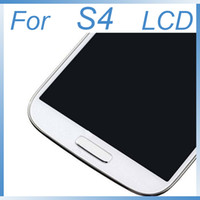 Wholesale lcd galaxy s4 i337 - LCD screen For Samsung Galaxy S4 SIV i9500 i9505 i337 LCD Screen + Digitizer Touch + Full Frame