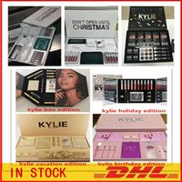 Wholesale Matte Box Kit - Newest Kylie Lip Kit by kylie jenner Velvetine Liquid Matte 12 Days Vault Makeup Holiday Big Box I WANT IT ALL The Birthday Collection Gift