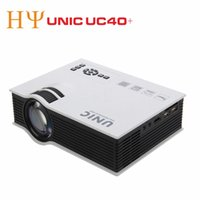 UNIC UC40 + LED Projektor HD 800lms 3D Mini Pico tragbare Heimkino beamer multimedia proyector Full HD 1080 P video