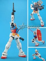 Wholesale Gundam Assembly Robots - Free Shipping am TT 1 100 Scale RX-78-2 Fighter Anime Assembly Action Figure Toy