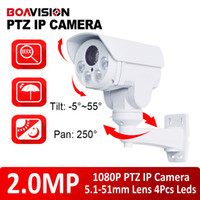 Wholesale Hd Ip Camera Optical Zoom - 1 2.8 CMOS Sensor 2.0Megapixel 10X Optical Zoom Motorized Lens HD 1080P IR 80m Mini PTZ IP Camera,Pan Tilt,Outdoor bullet 2MP IP Camera