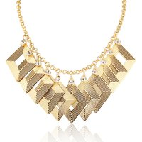 Wholesale Twisted Chunky Choker Necklace - Statement necklace in Choker 2016 New Fashion Jewelry Gold  Platinum Plated Cocktail Party Chunky Maxi Pendants Necklaces