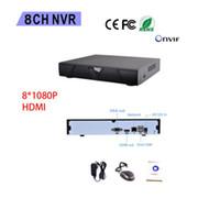 système de vidéosurveillance h.264 achat en gros de-8CH CCTV NVR 1080P H.264 Network Video Recorder prend en charge le système CMS ONVIF 2.0