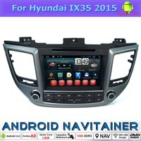 Wholesale Gps For Hyundai - Android Car GPS 2 Din Car Dvd Radio Player for Hyundai Ix35 2015 Central Multimedia with Bluetooth TV 3G Wifi
