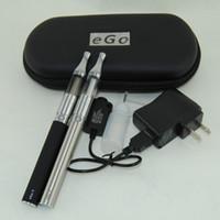 Wholesale Egot Cases - Double Mini Protank EgoT Zipper Case Atomizer Vaporizer 510 Compatible EGO 650mah 900mah 1100mah Ego t Battery DHL free 10pcs