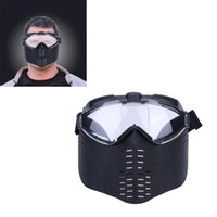 Wholesale Outdoor Equipment Parts - Wholesale- Outdoor Tactical mask MTB Bicycle Protective Helmet Offensive protection of the head part Self Defense Equipment Half Face MASK