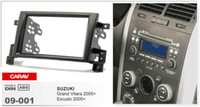 CARAV09-001 Auto Radio Fascia Panel für SUZUKI Grand Vitara, Escudo 2005 + Stereo Dash Facia Trim Surround CD Installation Kit