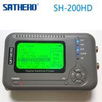 Wholesale Digital Sat Meter - [Genuine] Sathero SH-200HD DVB-S2 Digital Satellite Finder Meter Sat Finder 200HD High Definition USB 2.0 Spectrum analyzer