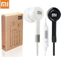 Wholesale Xiaomi M1 1s - Wholesale-Hot 1Pcs High Quality XIAOMI Earphone Headphone Headset For XiaoMI M2 M1 1S Samsung iPhone MP3 4 With Remote MIC and Retail box
