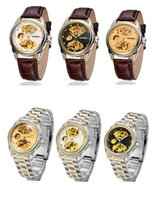 dropshipping best skeleton watches for men uk uk delivery best luxury winner new unique hollow skeleton stainless steel mechanical watch for man gold mechanical wristwatch dropshipping uk
