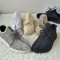 Wholesale Pirate Bands - Breathable 350 Running Shoes Boost Pirate Black Turtle Dove Kanye Shoes Fashion Boots Size 12 Box New Men Sports Walking Shoes