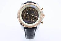 Wholesale Swiss Quartz Mens Watches - Luxury Brand Mens Winding Dezel Stainless Steel Watch Mens Black Belt Watches Swiss Mens Wristwatch with Calendar