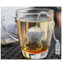 Wholesale tea makers wholesale - New Arrive Deep Coffee Tea Infusers Makers Diver Loose Leaf Strainer Bag Mug Filter Kitchen