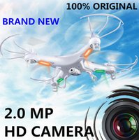 Wholesale Axis 2mp - SYMA X5C Helicopter Quadcopter 2.4GHz 4CH HD FPV Camera 6 Axis RC Gyro 2GB TF Card with 2MP Camera RM475