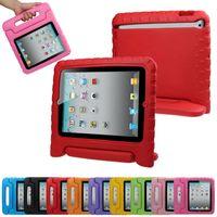 mini caso del ipad para los cabritos al por mayor-Funda protectora con soporte para iPad 2/3 / Ipad Air ipad Mini, multifuncional para niños, suave y suave, espuma, peso, a prueba de choques, a prueba de golpes