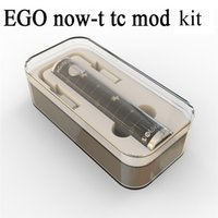 Wholesale Ego T Crystal Battery - NEW EGO NOW-T TC 60W Kit vs Ego t battery Ego twist battery Istick 30w mod Temperature control mod kit with Crystal box