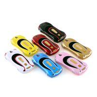 Wholesale Cheap Car Radios Bluetooth - 2016 Cheap Car Shape Cell Phone NEWMIND F1 1.77 Inch Dual SIM GSM 1000mah bttery FM Radio 5 colors optional mobile phone