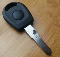 vw jetta anahtar kılıfı toptan satış-Vw jetta için boş transponder anahtar kabuk, vw için anahtar dava (Sol