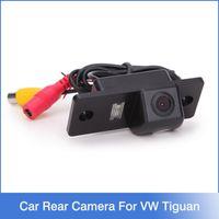 Wholesale Cayenne Reverse Camera - For VW Tiguan Car Rear Camera, Car Reversing Camera For VW Touareg Poussin Old Passat Porsche Cayenne Fabia POLO(3C) Golf